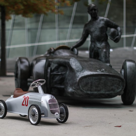 Baghera Mercedes Rider W25 Silver Arrow