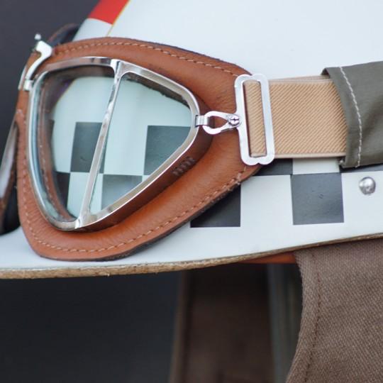 Suixtil Belle Vue 50's Goggles - Brown/Black