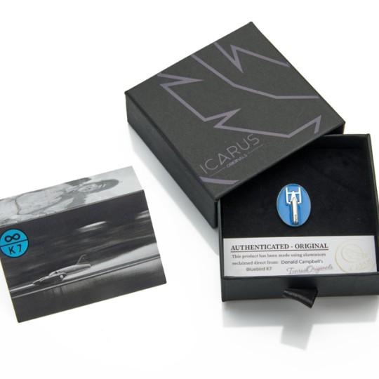 Limited Edition Bluebird K7 Lapel Pin