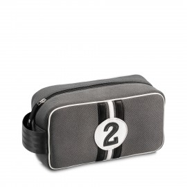 Racing Number Grey Wash Bag No2