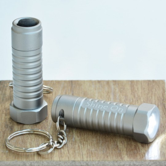 Personalised Bolt Torch Keyring