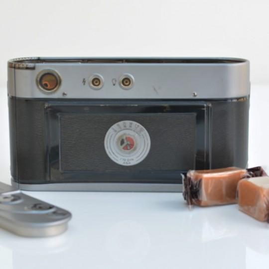 Camera Tin with Fudge