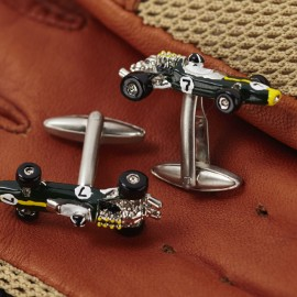 Lotus 49 Racing Car Cufflinks