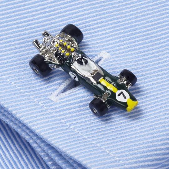 Lotus 49 Racing Car Cufflinks