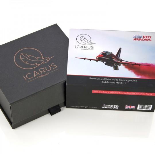 Reclaimed Red Arrows T1 Hawk Cufflinks