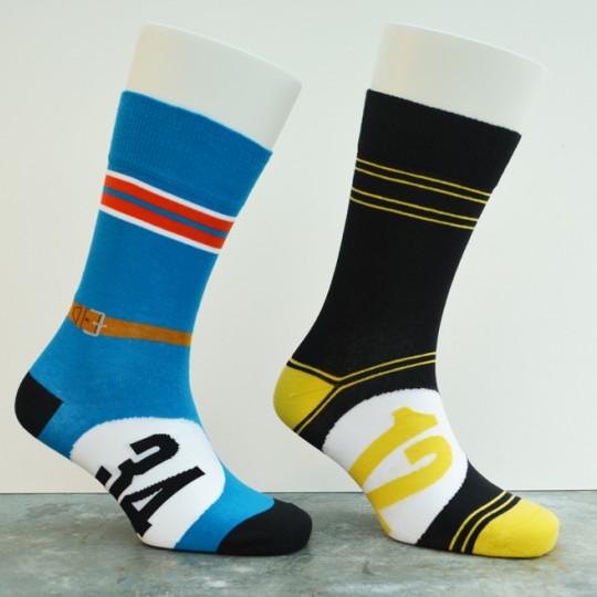 Motoring Leg-Ends Socks