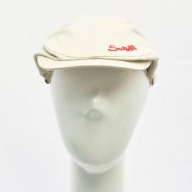 Suixtil Linen Race Cap Beige
