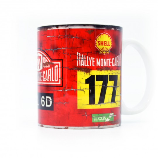 Monte Carlo Rally Mini Mug