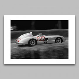 1955 Mercedes Benz 300SLR Limited Edition Print