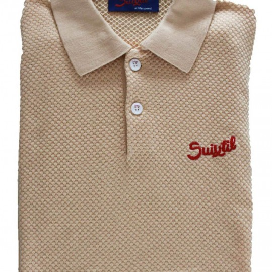 Suixtil Nassau Polo Shirt Gold