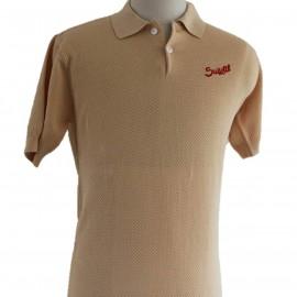 Suixtil Nassau Polo Shirt Gold