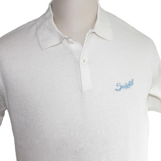Suixtil Nassau Polo Shirt Ice White