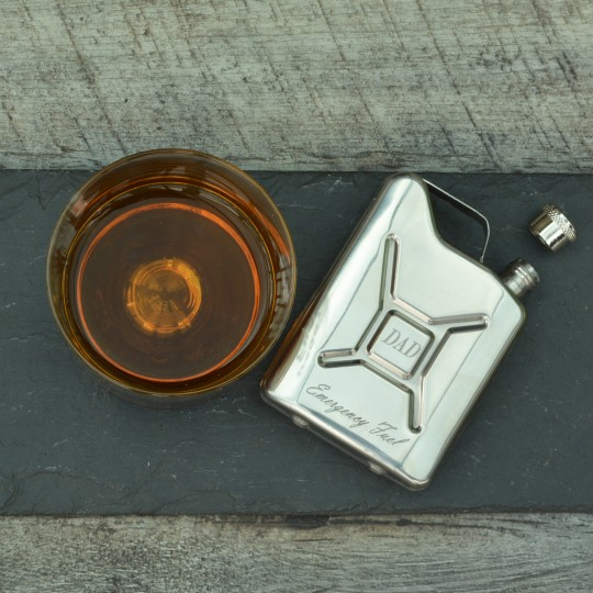 Personalised Petrol Can Hip Flask