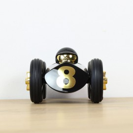 Rufus Racing Car Black & Gold