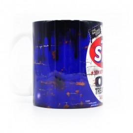 STP Oil Treatment Can Mug