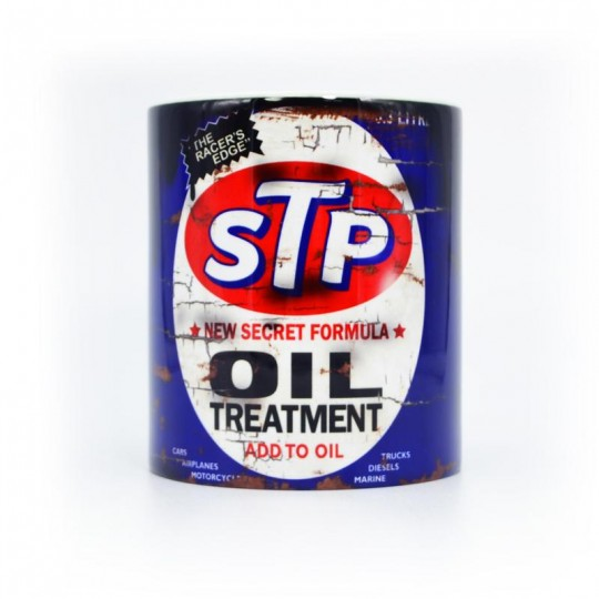 STP Oil Treatment Can Mug