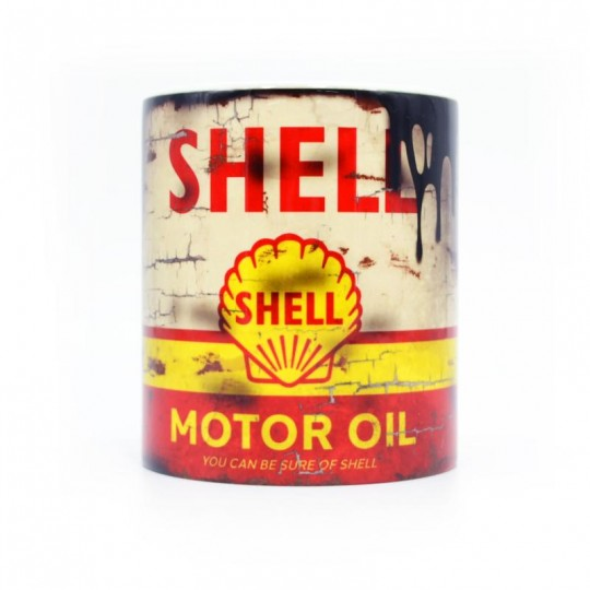 Shell Oil Can Mug