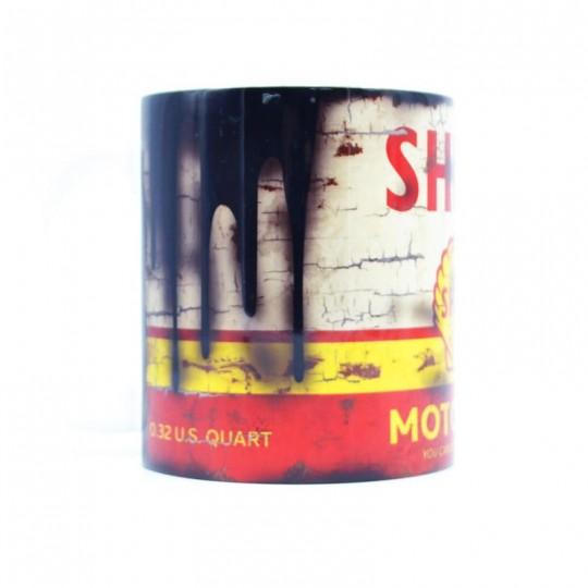 Shell Oil Can Mug