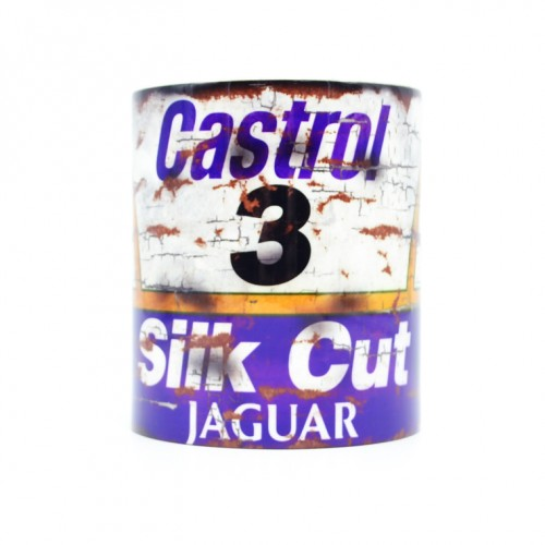 Silk Cut Jaguar Oil Can Mug