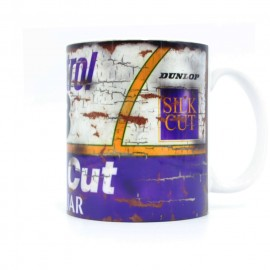 Jaguar Silk Cut Oil Can Mug