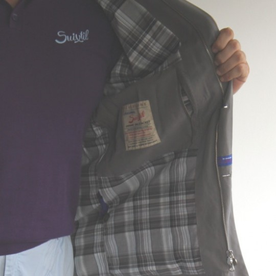 Suixtil Silverstone Jacket Smoke Grey