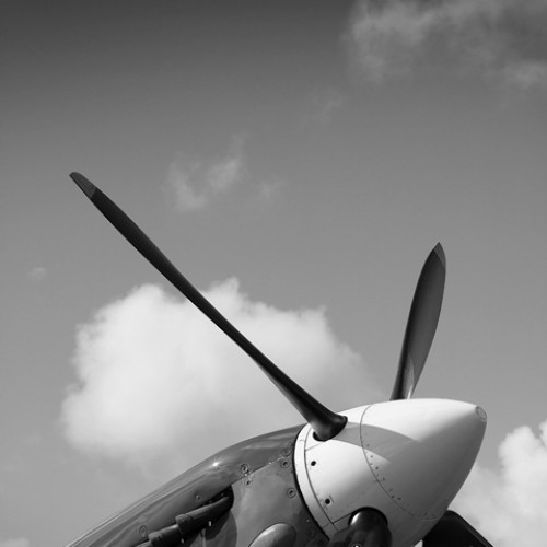 Motorgraphics - Spitfire Propeller Print