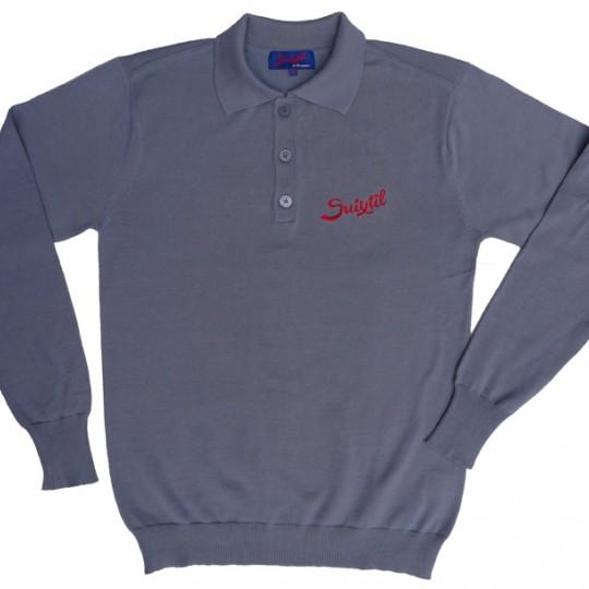 Suixtil Targa Pima Sweater Steel Blue