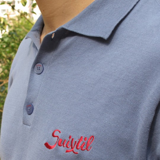 Suixtil Targa Pima Sweater Steel Blue