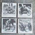 TT Racers set of four Coasters