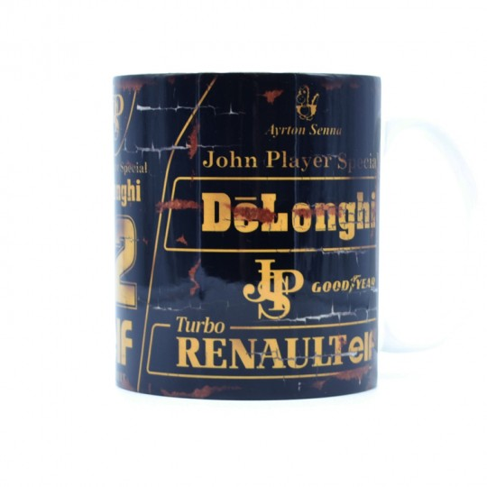Ayrton Senna JPS Racing Mug