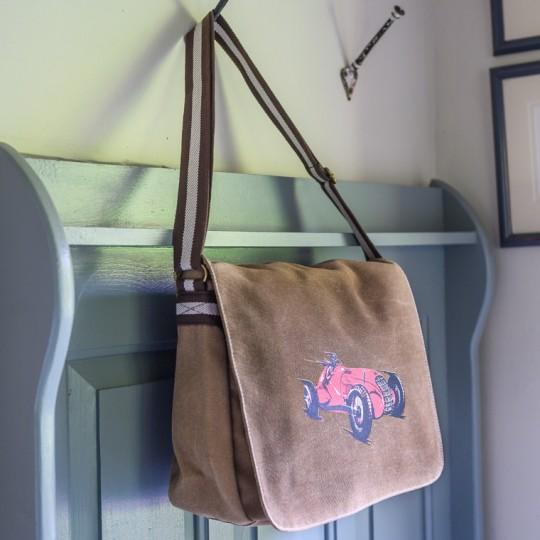 Alfa Messenger Bag Khaki