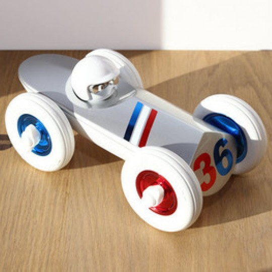 Rufus Allons-Y Racing Car White