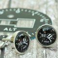 Personalised Altimeter Cufflinks
