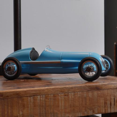 Blue Desk Racer
