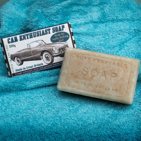 Car Enthusiast Soap