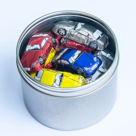 Gift Tin of Chocolate Sports Cars