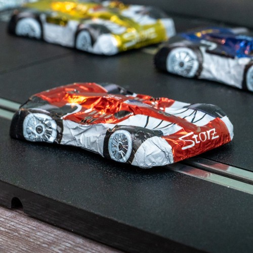 Gift Tin of Chocolate Formula 1 Cars