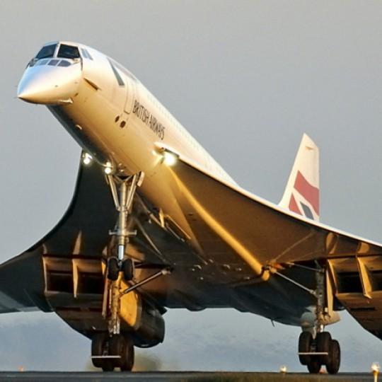 Reclaimed Concorde Cufflinks