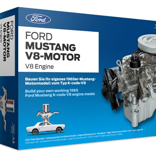 Ford Mustang Model Engine Kit