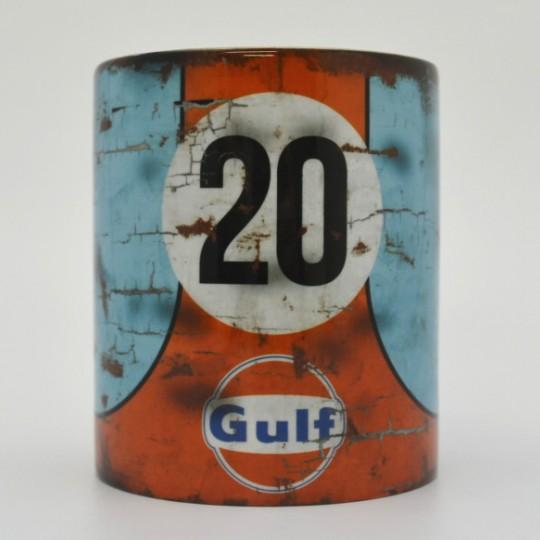 Gulf Porsche Racing Mug