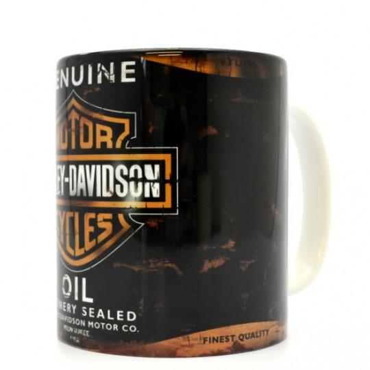 Harley Davidson Oil Can Mug