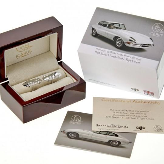 Genuine Upcycled Jaguar E-Type Cufflinks