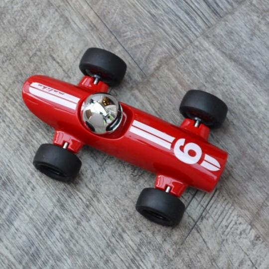 Malibu Racing Car Dark Red No6