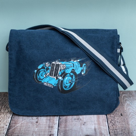 MG Messenger Bag Blue