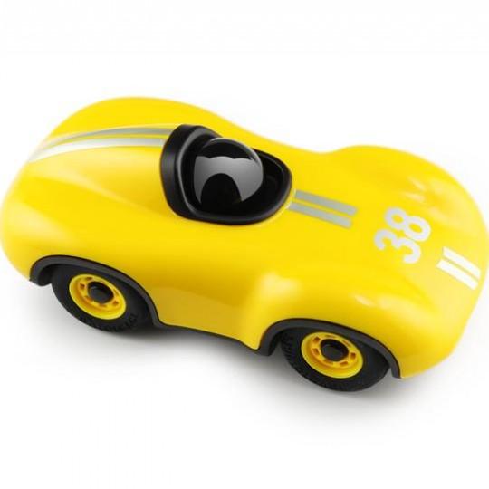 Mini Speedy Le Mans Racing Car Yellow