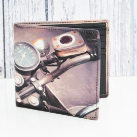Motorcycle leather Wallet