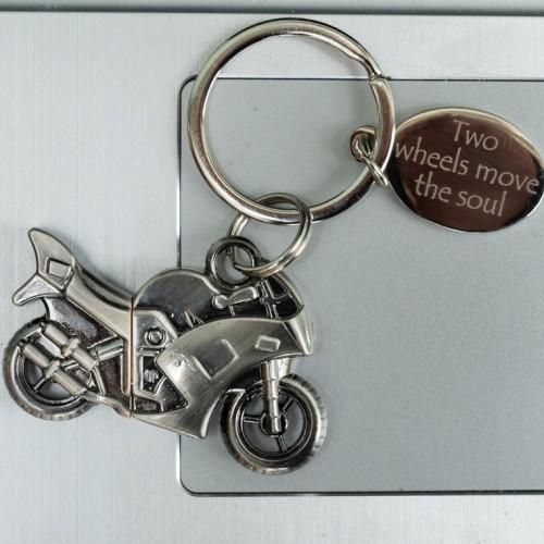 Motorbike Personalised Memory Stick