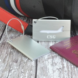 Personalised Boeing Luggage Tag