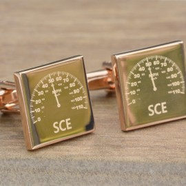 Personalised Car Dial Cufflinks