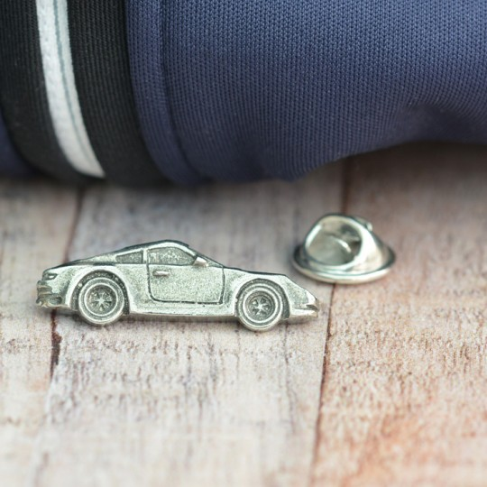Pewter Sports Car Lapel Pin badge